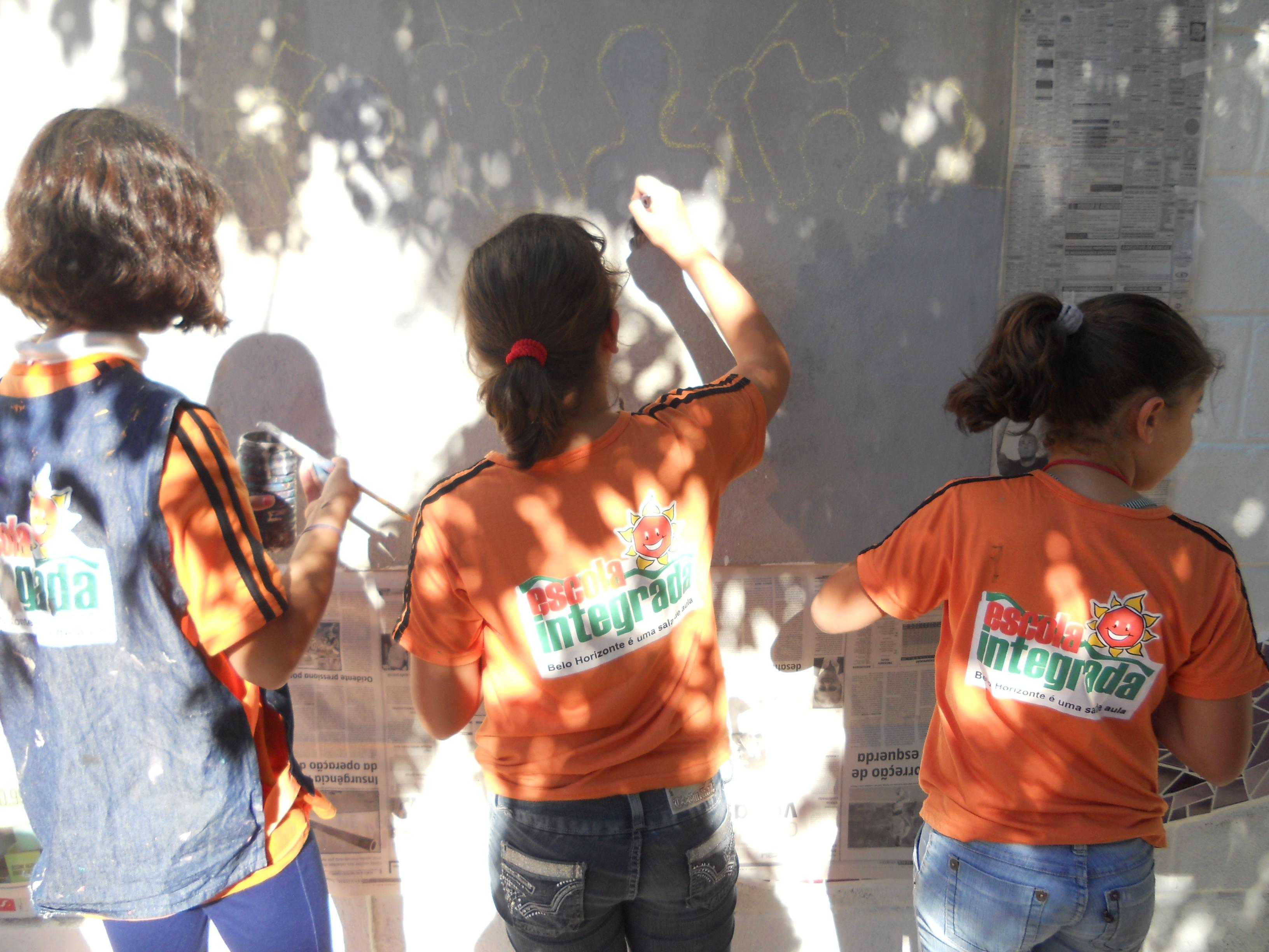Programa Escola Integrada reconfigurou a relação das escolas com a cidade de Belo Horizonte
