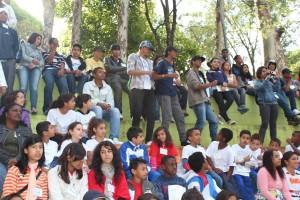 Jovens reunidos na Conferência de 2011. Crédito: Julia Dietrich