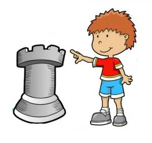 menino xadrez