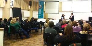 Palestra do Curso de Extensão em Educação Integral/Créditos: Divulgação