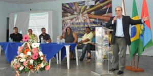 Prefeito Nestor Vidal no lançamento do programa. Crédito: Assessoria de comunicação de Magé
