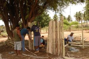 Construção Coletiva do Quintal da Criança/ Crédito: Divulgação