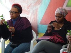 Oficina Africanidades do Curso Pedagoginga/Créditos: AllanDaRosa