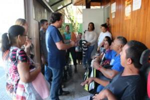 A diretora do Cieja iniciou um processo de reconhecimento dos espaços de mobilização já existentes no bairro