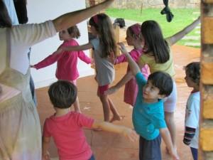 Atividades da Semana Mundial do Brincar na Escola Jequitibá, em Salvador (Bahia)/ Divulgação