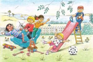 Ilustração da história de Zippy