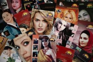 Capas da revista ROZ. Foto: Reprodução