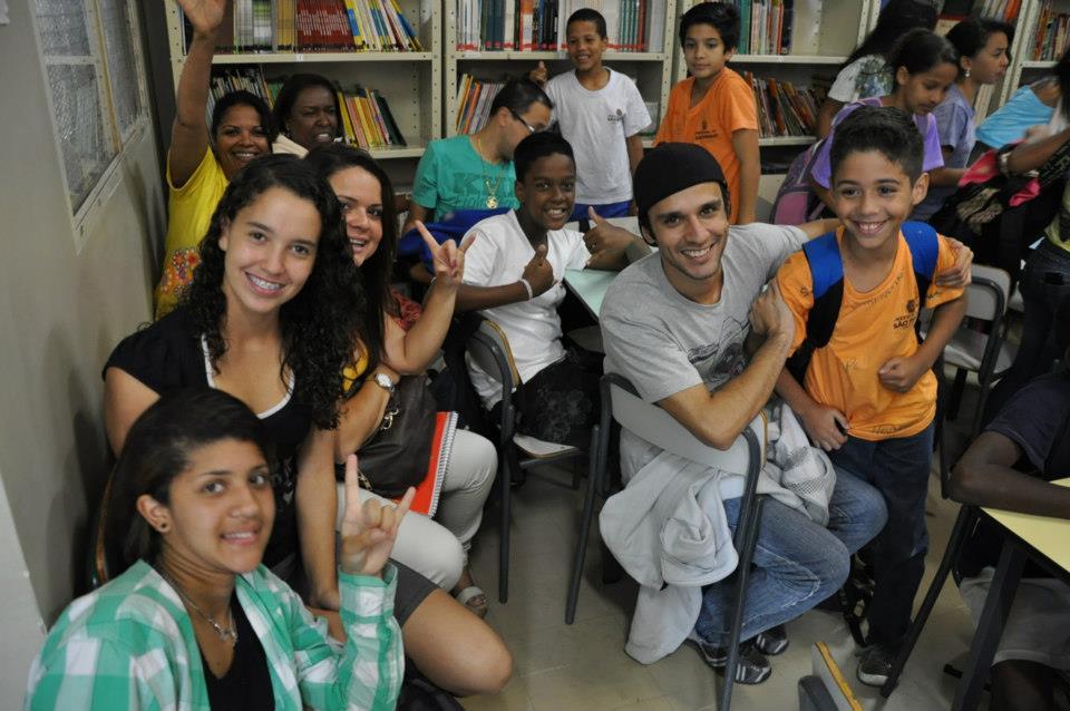 Estudantes da EMEF José Pegoraro (SP) que já participaram da metodologia.