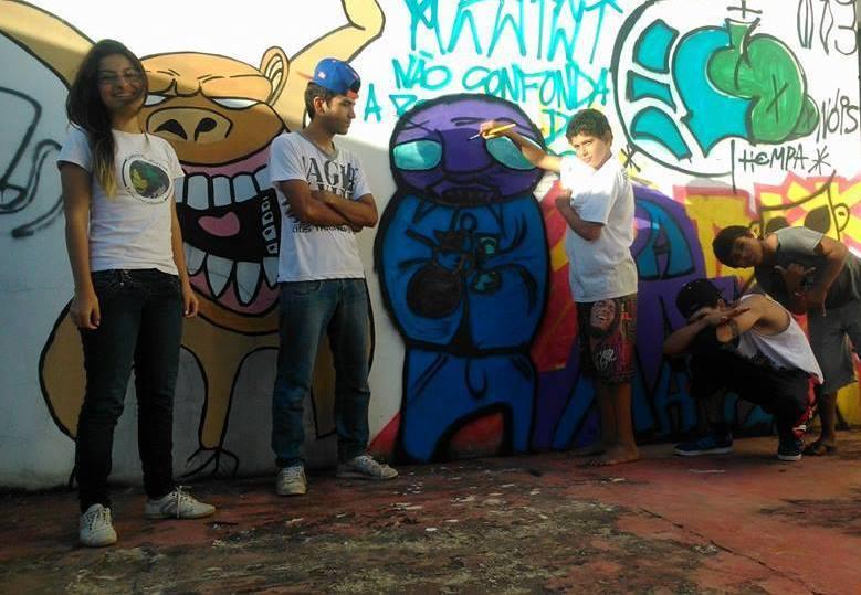 Jovens ocupam e discutem o espaço público da cidade. Foto: Reprodução