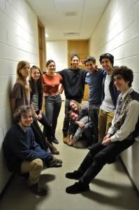 Grupo de adolescentes da turma piloto da iniciativa