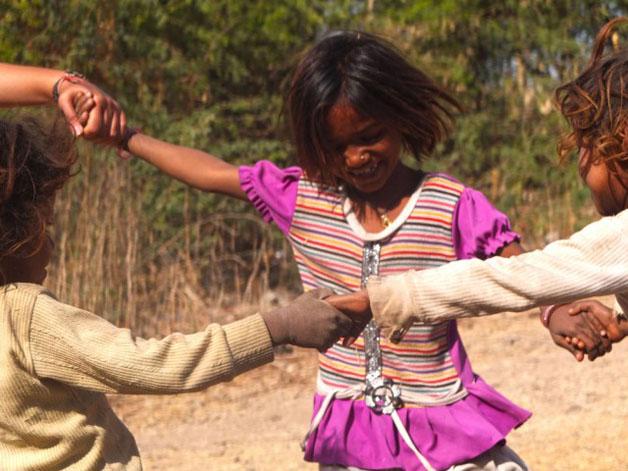 Crianças na Índia