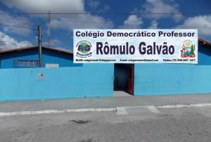 Na Rômulo Galvão, os estudantes votam para escolher a gestão da escola.