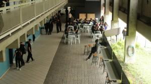 Na Etec Tiquatira, os estudantes se reúnem semanalmente com a coordenação.