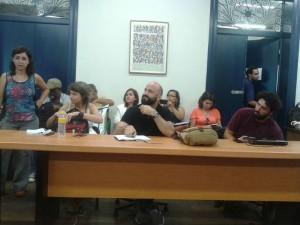 Ítalo Dutra ao centro participa de reunião com comitês de educação integral em Olinda (PE)