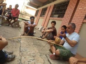 Estudantes ocupados realizaram uma série da atividades.