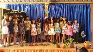 Alunos fazem recital de poesia para famílias