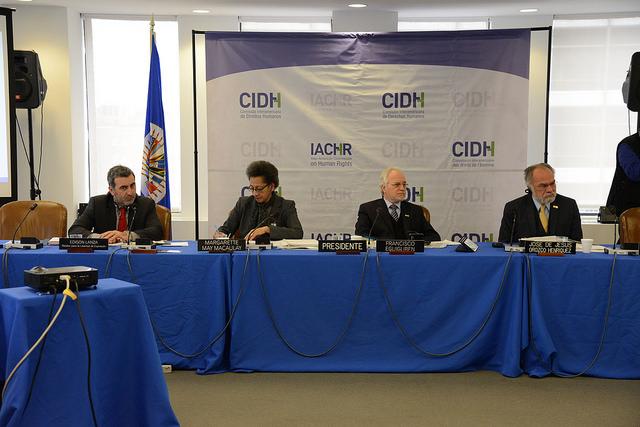 Comissionados da CIDH pediram investigações sobre os abusos cometidos pela polícia militar. Crédito: Daniel