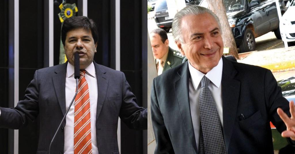 Mendonça Filho (esq) será o novo ministro da Educação de Michel Temer (dir).
