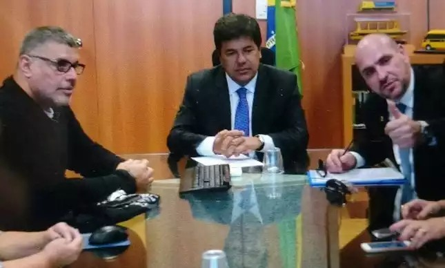 Alexandre Frota, Mendonça Filho e Marcelo Reis, em audiência realizada em 25/05