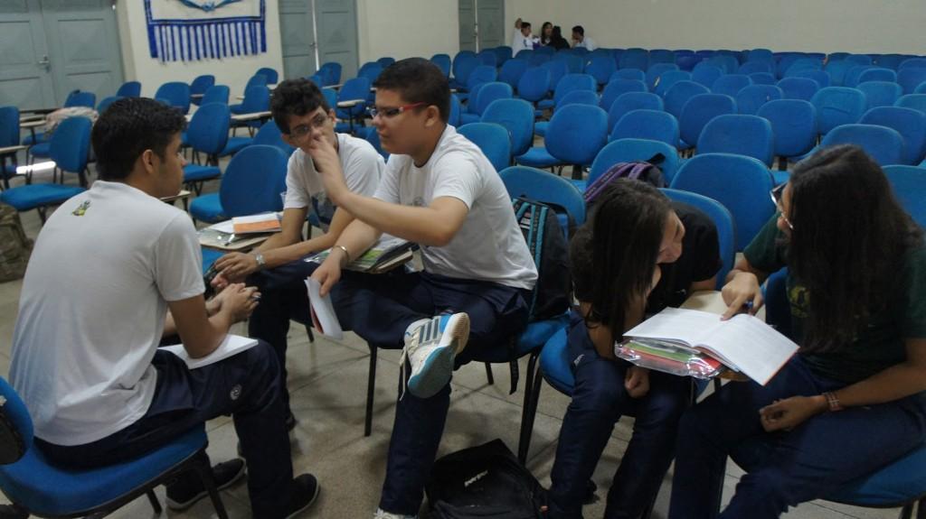Após a pesquisa, alunos se organizaram em Grêmio Estudantil para debater questões da escola. Créditos: divulgação