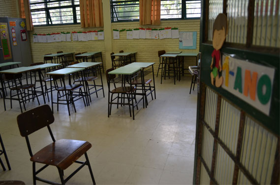 Apesar de estar perto da universalização, educação fundamental ainda deixa de atender quase meio milhão de estudantes. / Editorial J l Flickr/Creative Commons