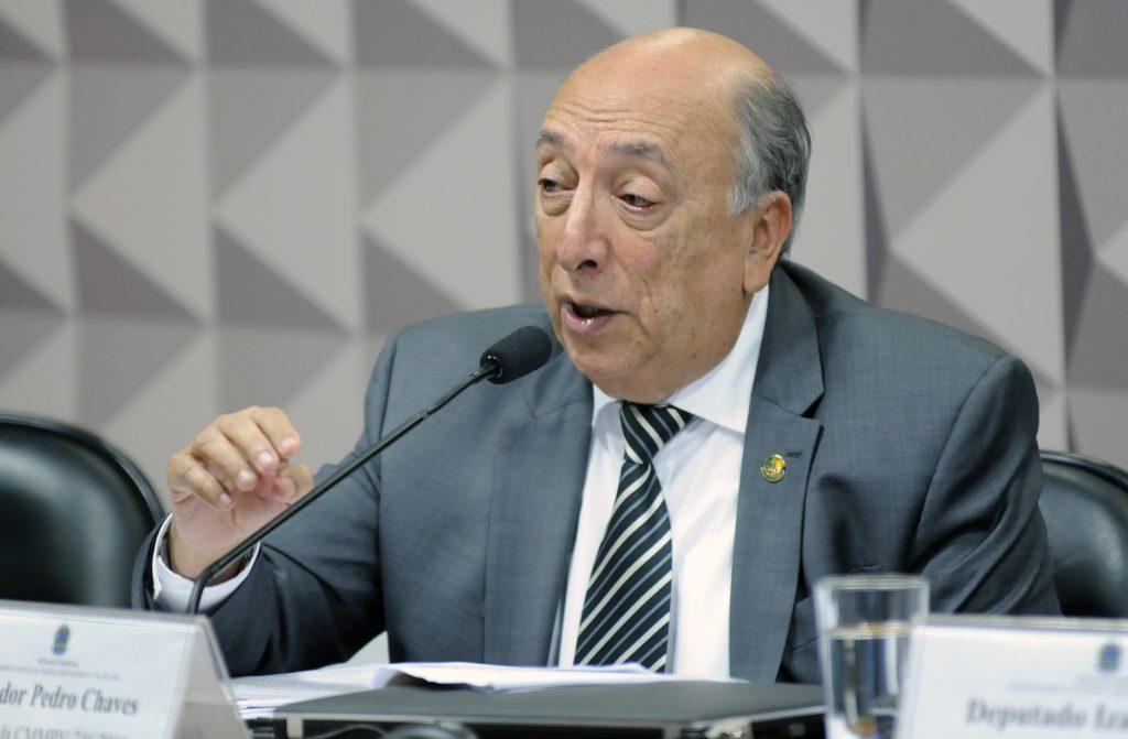 O senador Pedro Chaves (PSC-MS) é relator da proposta de reforma do Ensino Médio.