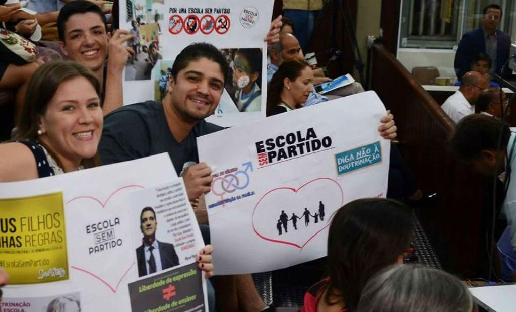 Manifestação do Escola Sem Partido