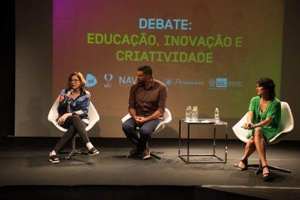 Pilar Lacerda e Anna Penido dividem o palco de debate sobre educação, inovação e tecnologia