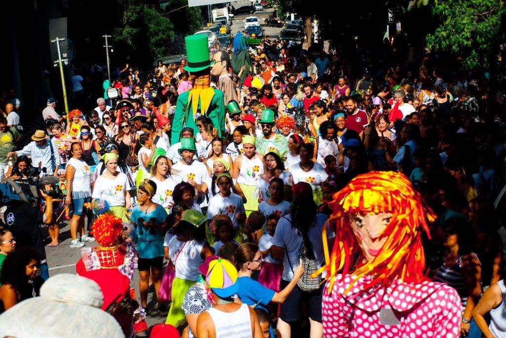 Carnaval é oportunidade educativa e de ocupação do território