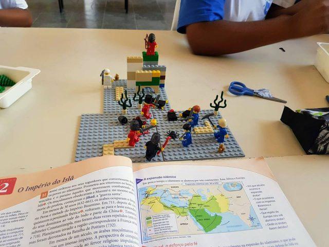 Atividade de Robótica com Lego na EMEF Maria Luiza Fornasier Franzin