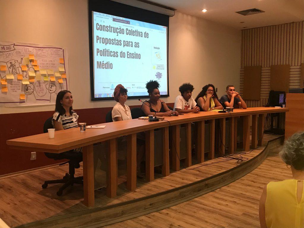 Representantes dos projetos compartilham suas experiências