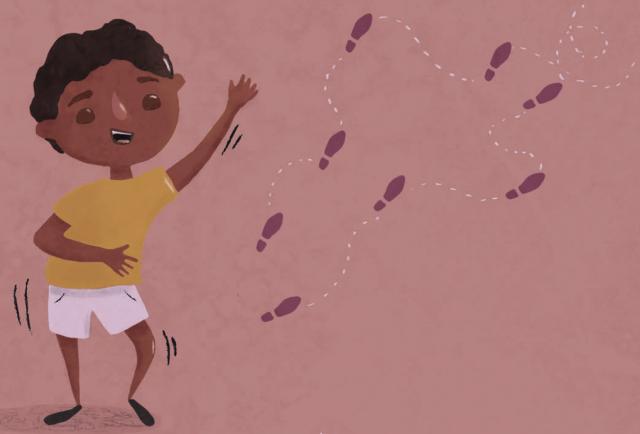 Ilustração do livro Coisa de Menino, que oferece a oportunidade de debater as masculinidades