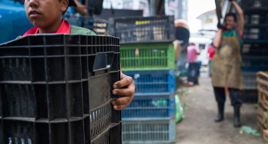 trabalho infantil nas feiras